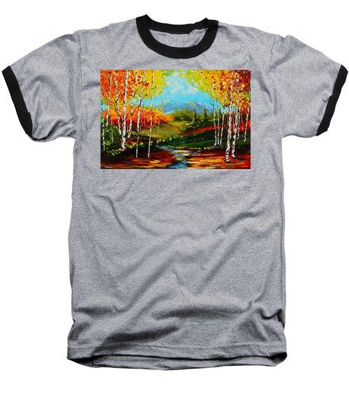Colorful Spring Baseball T-Shirt