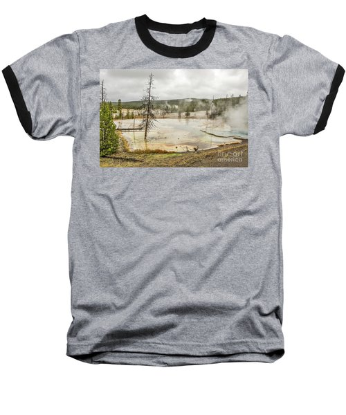 Colorful Thermal Pool Baseball T-Shirt by Sue Smith