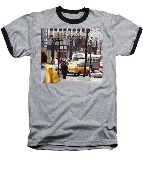 Colorful Transportation Baseball T-Shirt