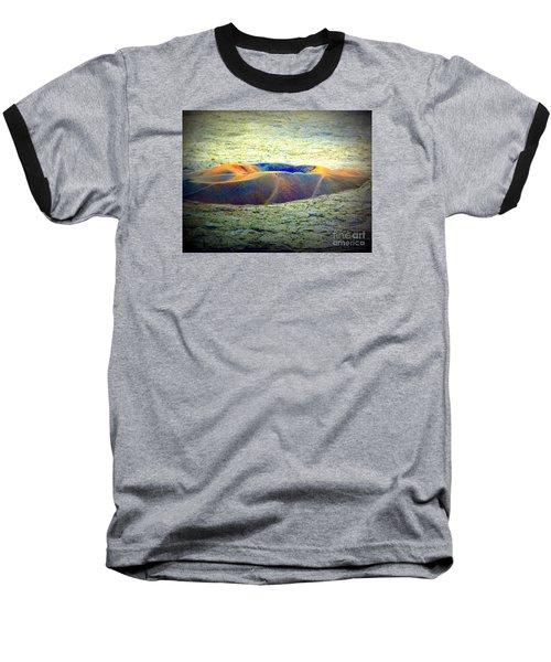 Colorful Volcanic Ash Baseball T-Shirt
