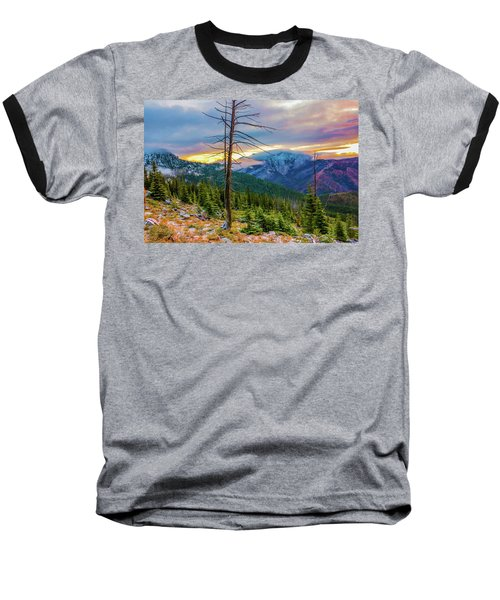 Colorfull Morning Baseball T-Shirt