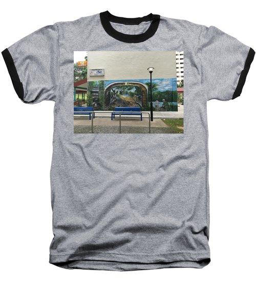 Coloring Holland V Wall 1 - Memories Baseball T-Shirt