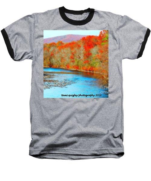 Coloring The Kittatiny Baseball T-Shirt