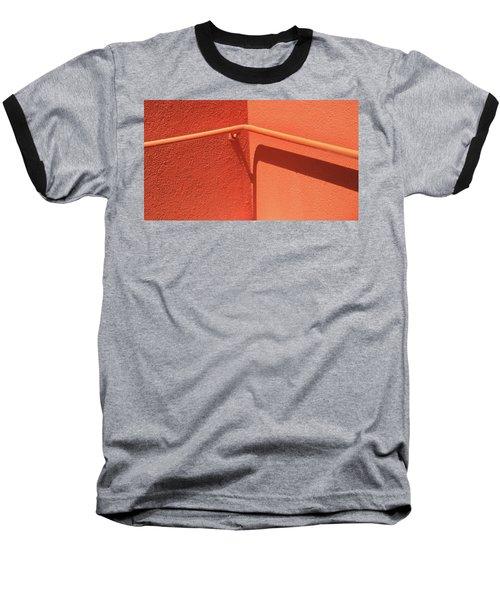Colors And Shadows Cornered Baseball T-Shirt