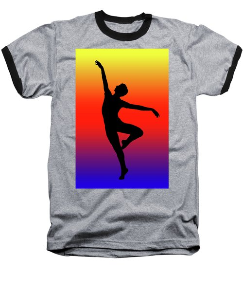 Colors Dance Baseball T-Shirt