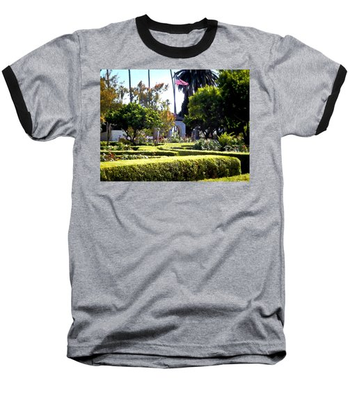 Baseball T-Shirt featuring the photograph Colors In The Garden by Glenn McCarthy Art and Photography