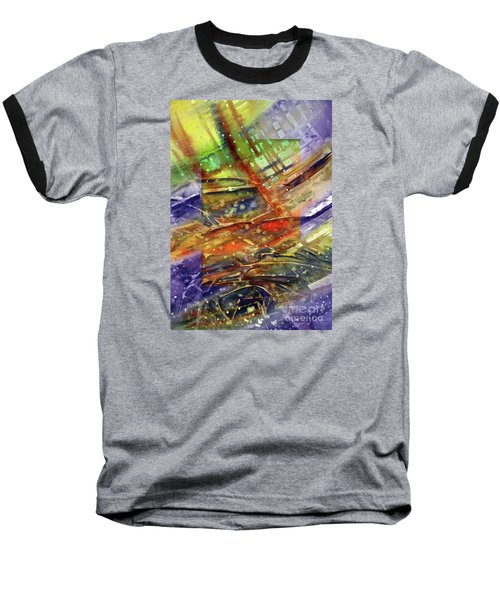 Colors Interrupting Baseball T-Shirt