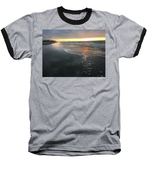Colors Of A Storm At Sunrise Baseball T-Shirt by Kelly Hazel