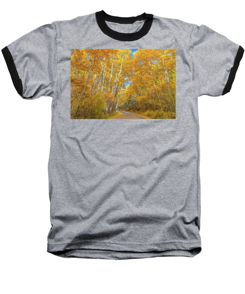 Baseball T-Shirt featuring the photograph Colors Of Fall by Darren White