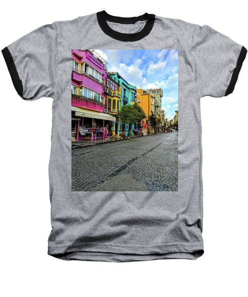 Colors Of Istanbul Baseball T-Shirt