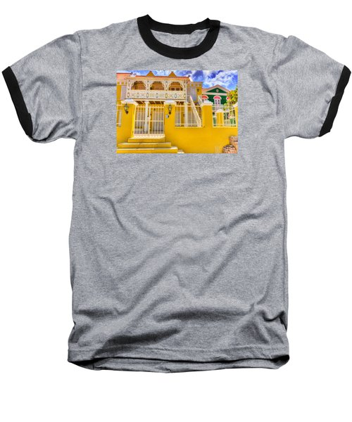 Colors Of Paradise Baseball T-Shirt by Nadia Sanowar