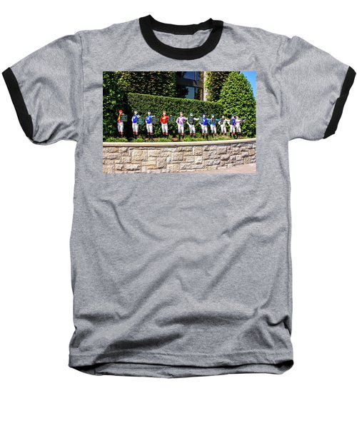 Colors Of Past Stakes At Keeneland Ky Baseball T-Shirt by Chris Smith
