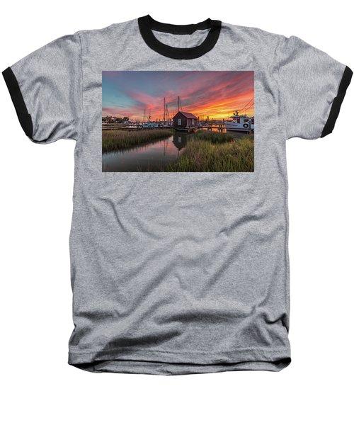 Colors Of Shem Creek - Mt. Pleasant Sc Baseball T-Shirt