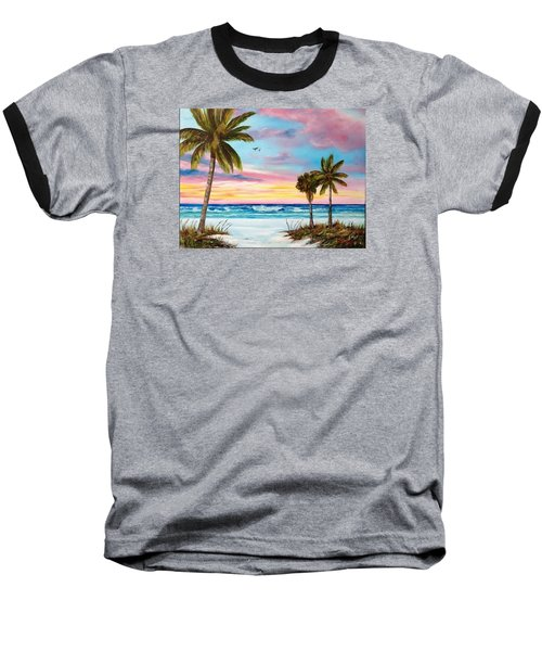 Colors Of Siesta Key Baseball T-Shirt