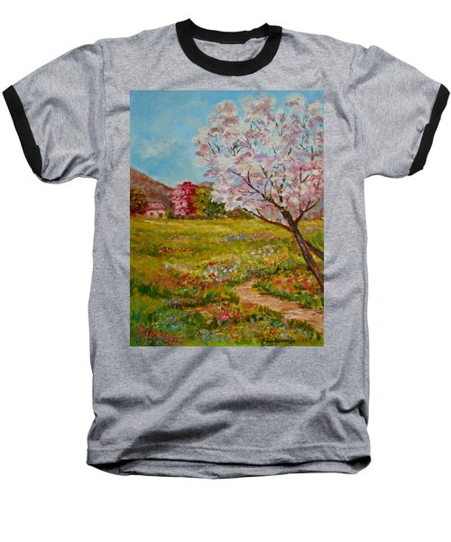 Colors Of Spring Baseball T-Shirt