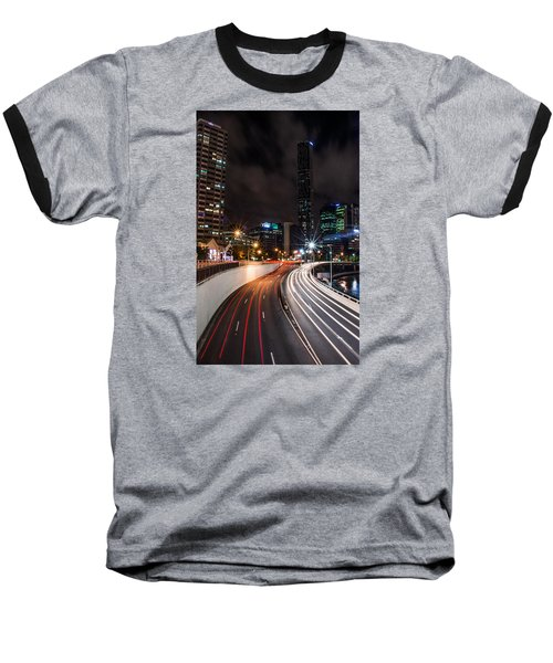 Colors Of The City Baseball T-Shirt by Parker Cunningham
