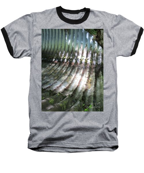 Baseball T-Shirt featuring the photograph Colors Of The Culvert by Marie Neder