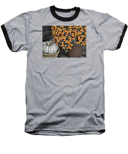 Colors Of The Fall Baseball T-Shirt by JAMART Photography