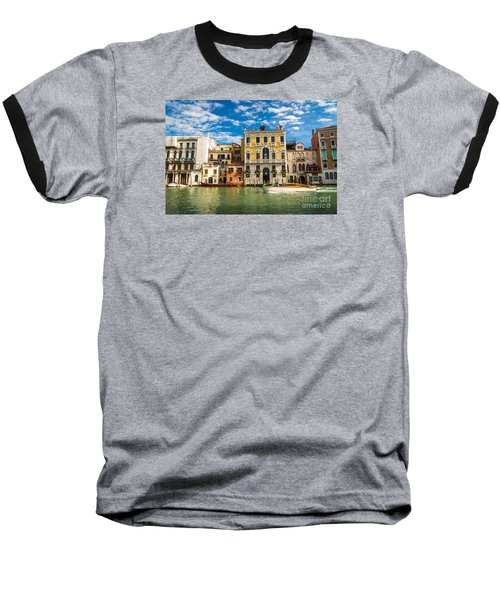 Colors Of Venice - Italy Baseball T-Shirt