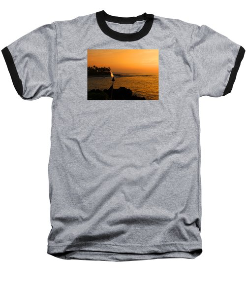 Baseball T-Shirt featuring the photograph Colors Of Waikoloa Hawaii by Kerri Ligatich