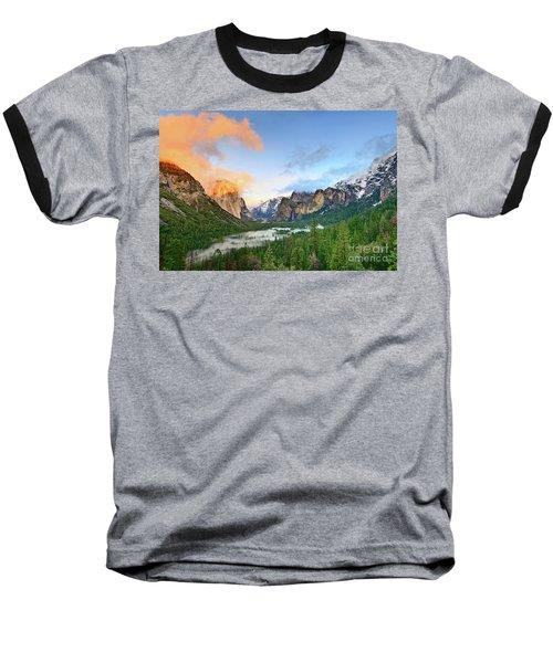 Colors Of Yosemite Baseball T-Shirt