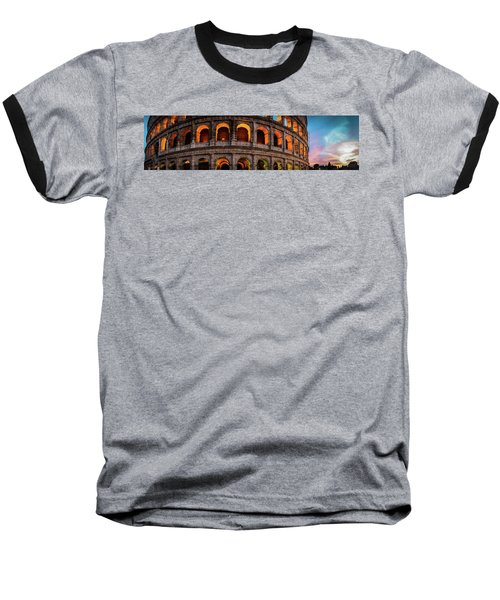 Colosseum In Rome, Italy Baseball T-Shirt