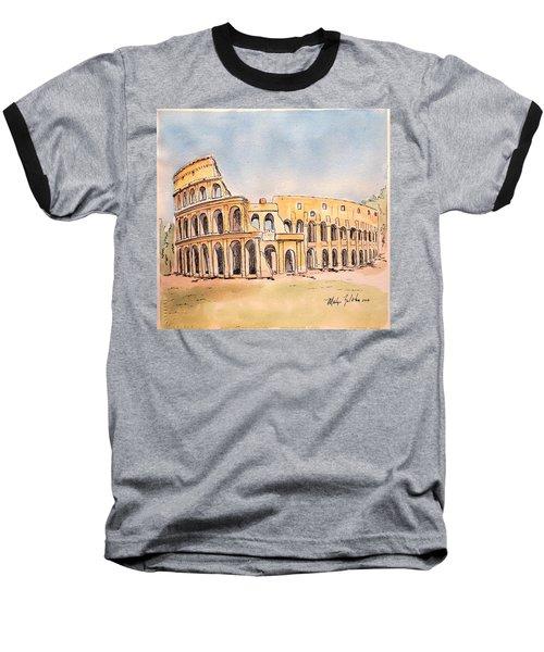 Colosseum Baseball T-Shirt by Marilyn Zalatan
