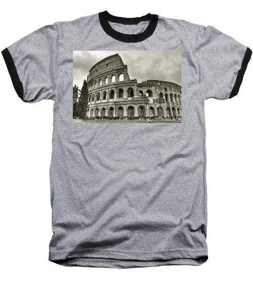 Colosseum  Rome Baseball T-Shirt