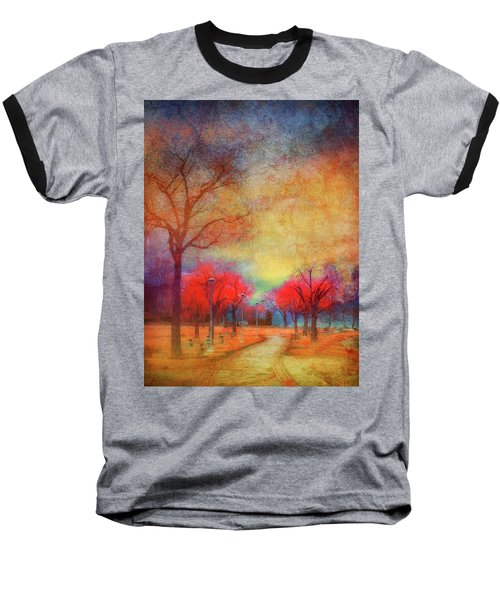 Colour Burst Baseball T-Shirt