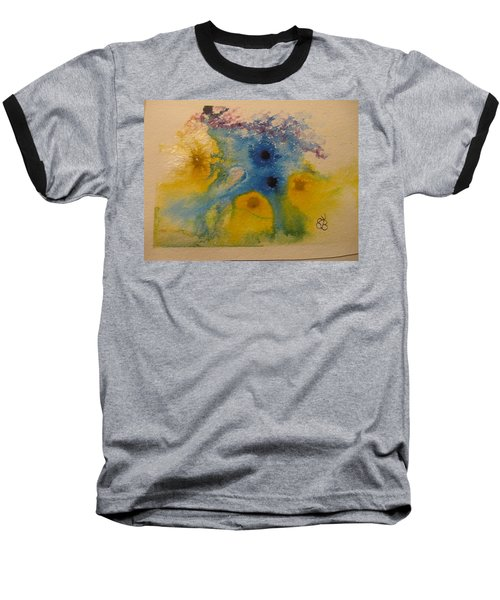 Colourful Baseball T-Shirt by AJ Brown