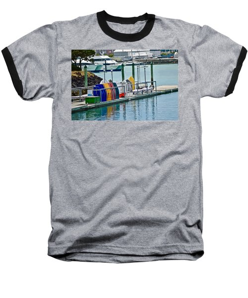 Colourful Dinghies Auckland Baseball T-Shirt