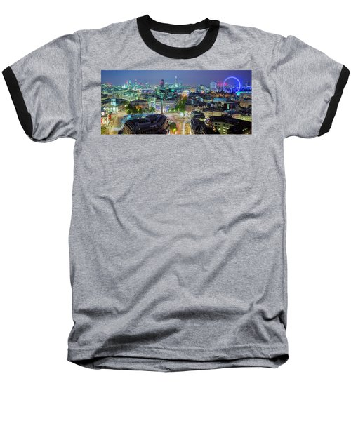 Colourful London Baseball T-Shirt