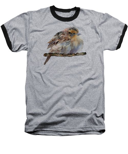 Colourful Sparrow Baseball T-Shirt by Bamalam  Photography
