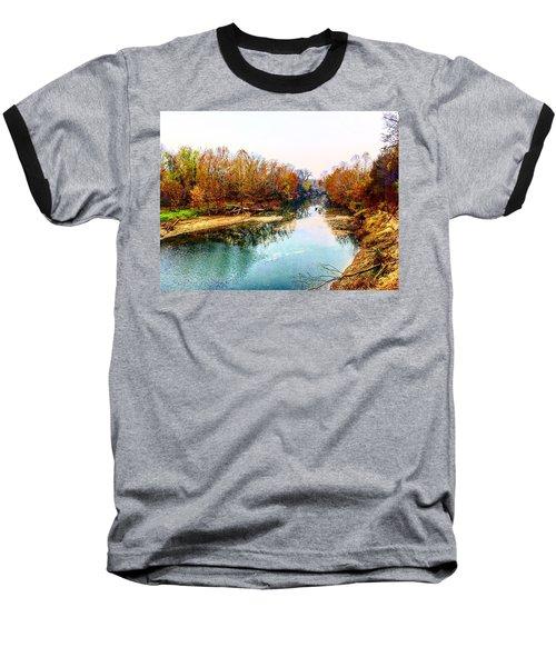 Colours Along Mill Creek Baseball T-Shirt