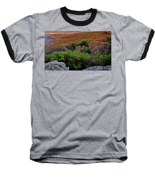 Baseball T-Shirt featuring the photograph Colours Of North Head by Miroslava Jurcik