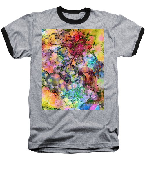 Colours - The Magic Of Life Baseball T-Shirt
