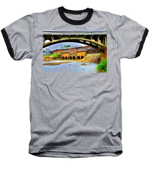 Columbia Canal At Gervais Street Bridge Baseball T-Shirt