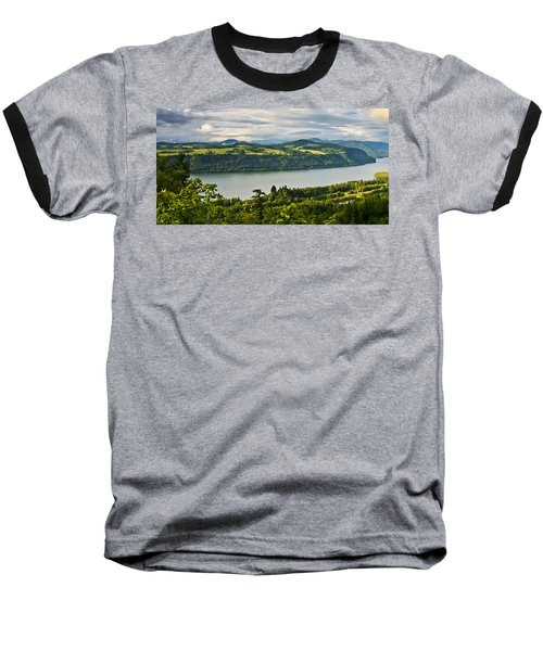 Columbia Gorge Scenic Area Baseball T-Shirt