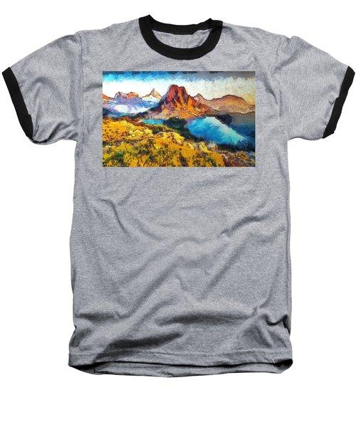Columbia Lake Reverie Baseball T-Shirt