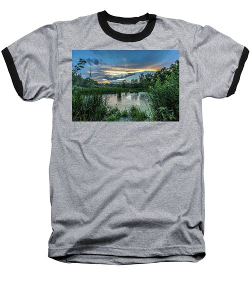 Columbia Marsh Sunset Baseball T-Shirt