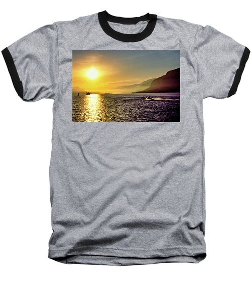 Columbia River 001 Baseball T-Shirt