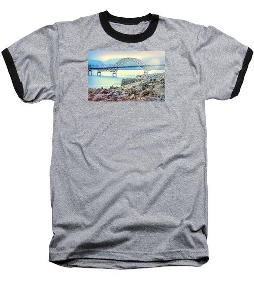 Columbia River Vantage Bridge Baseball T-Shirt