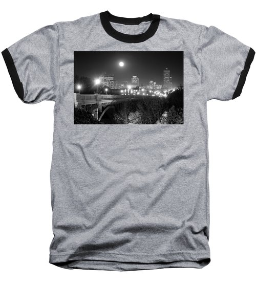 Columbia Skyline At Night Baseball T-Shirt