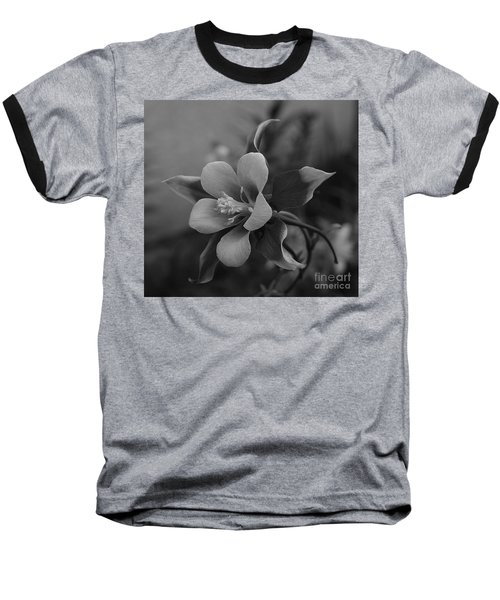 Columbine  Bw Baseball T-Shirt