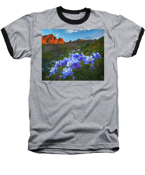 Columbine Sunrise Baseball T-Shirt
