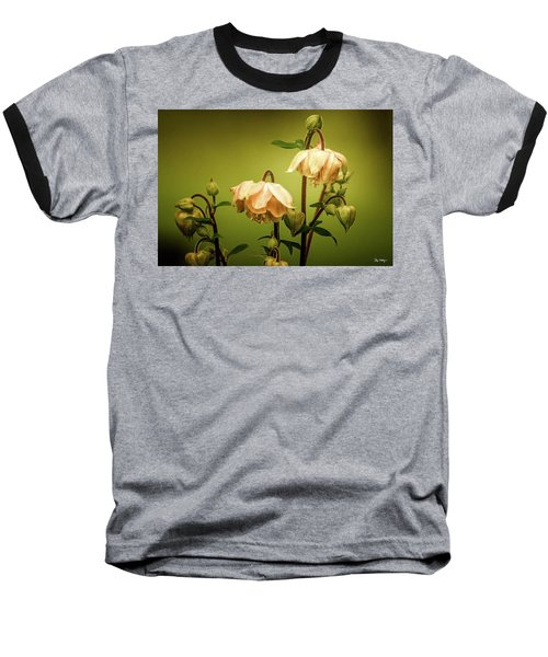 Columbines In Summer Baseball T-Shirt by Skip Tribby