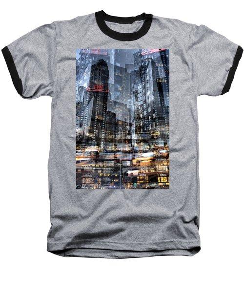 Columbus Circle Collage 1 Baseball T-Shirt
