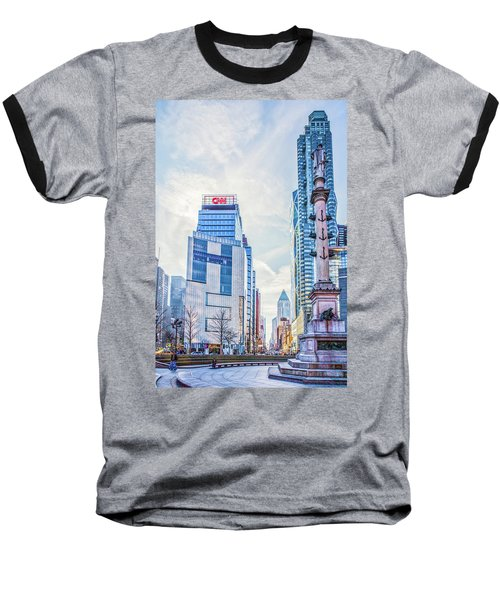 Columbus Circle Baseball T-Shirt