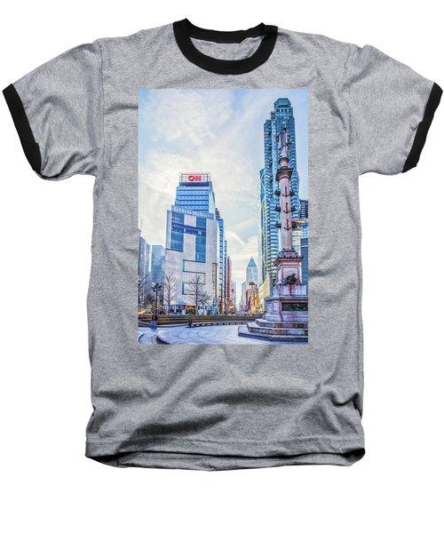 Columbus Circle Baseball T-Shirt
