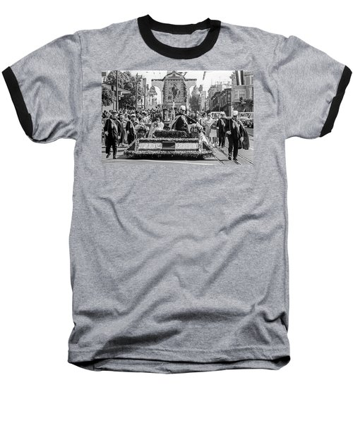 Columbus Day Parade San Francisco Baseball T-Shirt